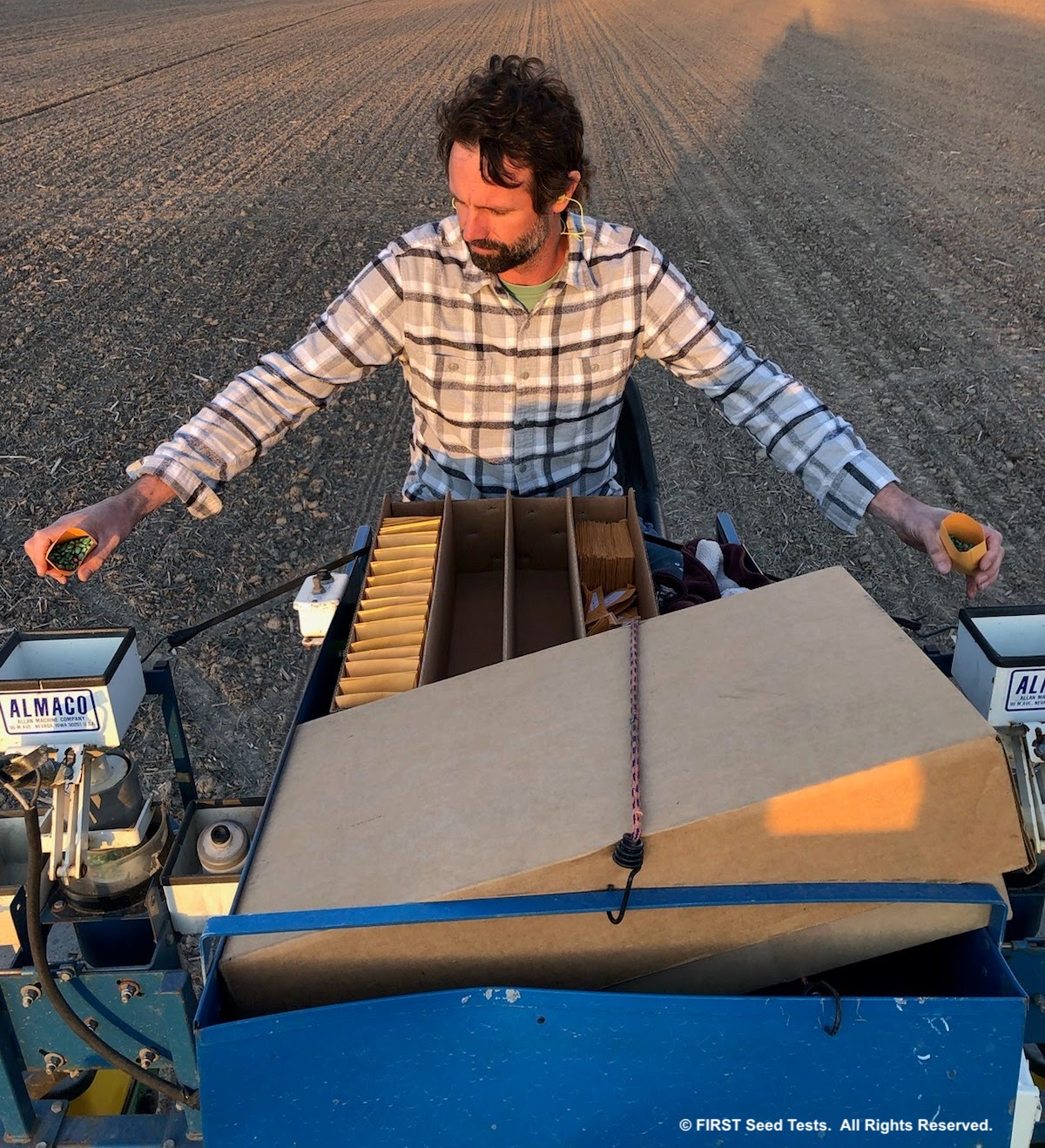 Planting in Missouri 2020.  Photo courtesy of Bill Schelp.