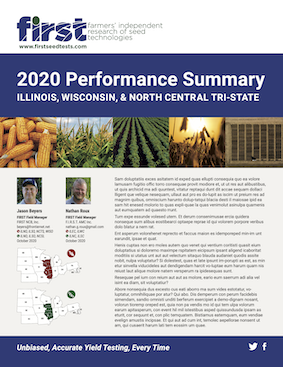 2020 Illinois,                                         Wisconsin, and North Central Tri-State Performance Summary