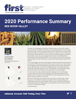 2020 Red River Valley Performance Summary